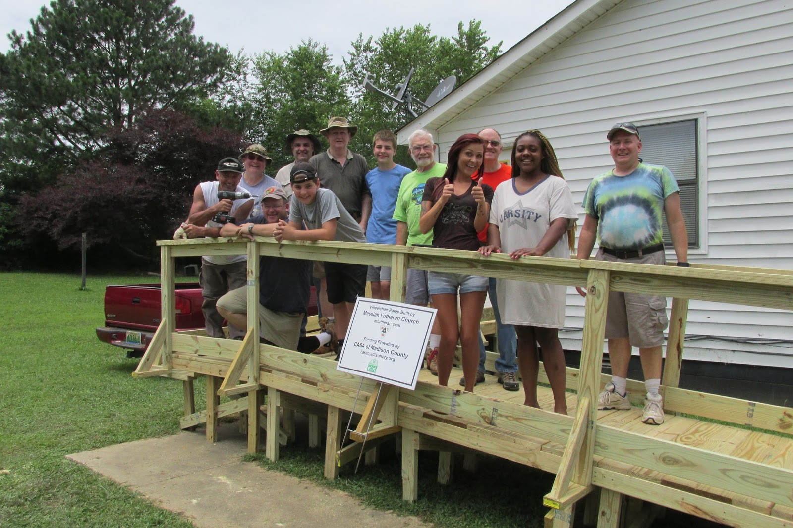 CASA Ramp Build June 13, 2015