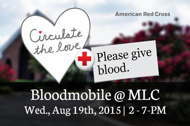 Bloodmobile August 10th