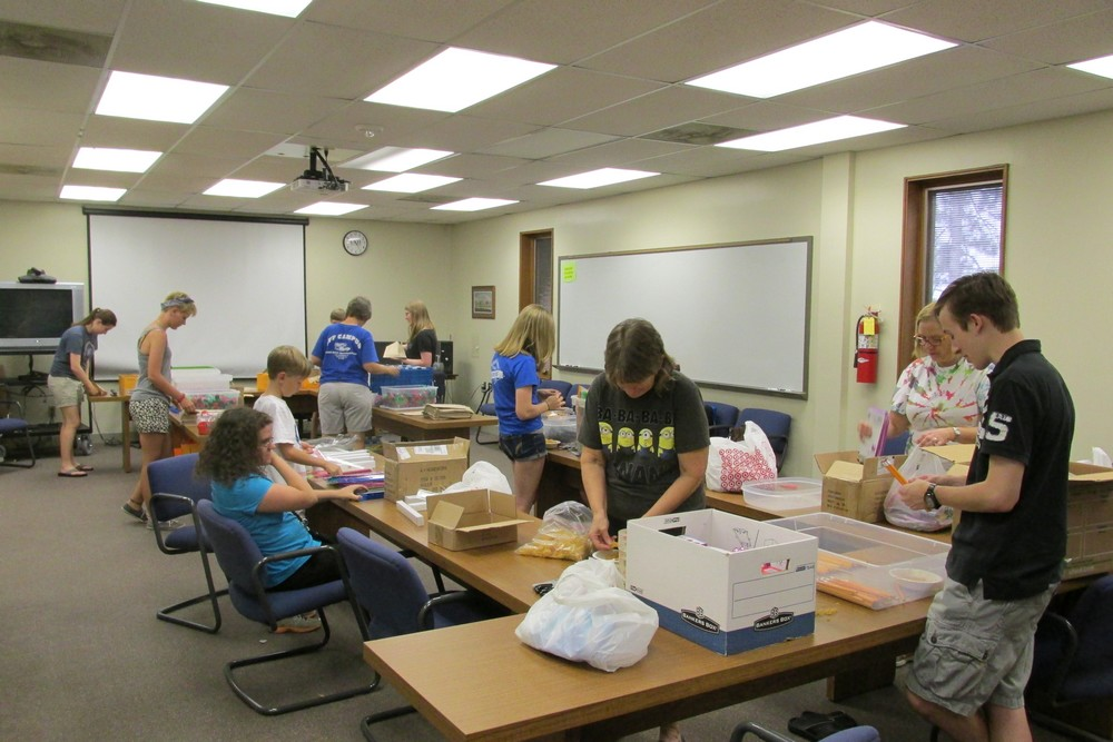 MLC and UAH Send School Supplies to Those in Need