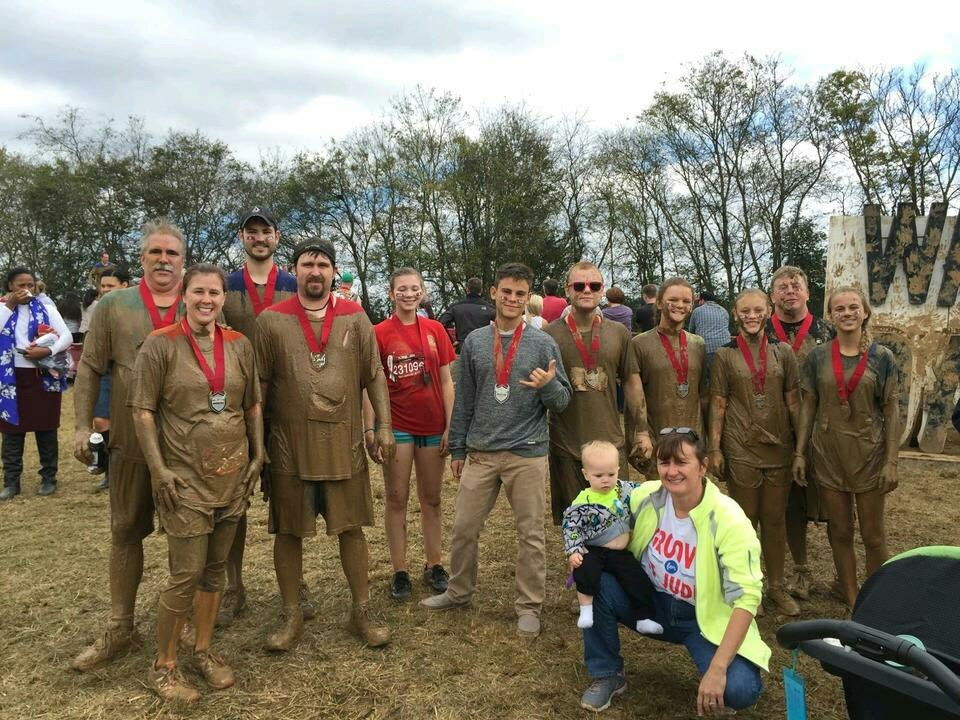Senior youth participate in Warrior Dash
