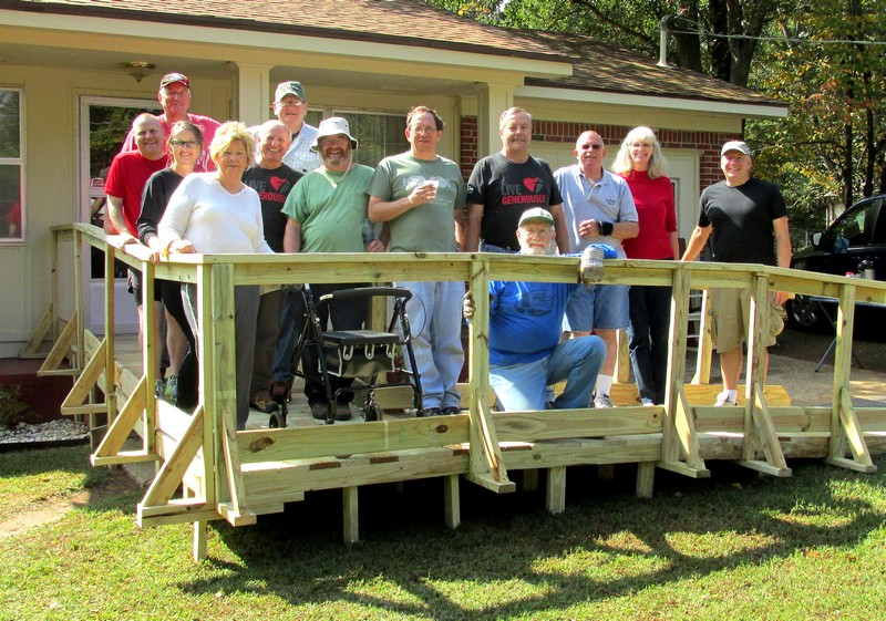 Wheelchair Ramp Build, October 10, 2015