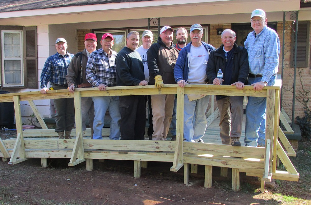 Wheelchair Ramp Build, 14 Nov 2015