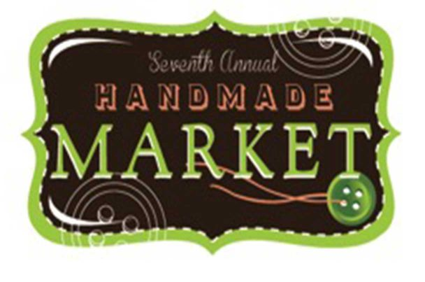 Handmade market button