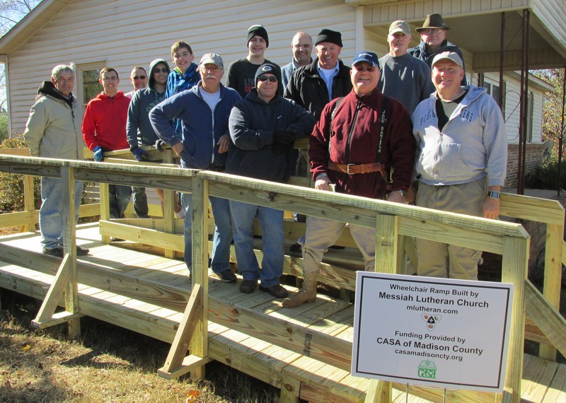 Wheelchair Ramp Build, November 19, 2016