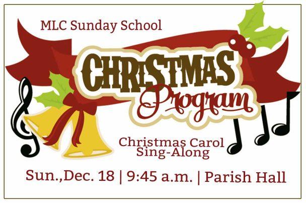 SS Christmas Program