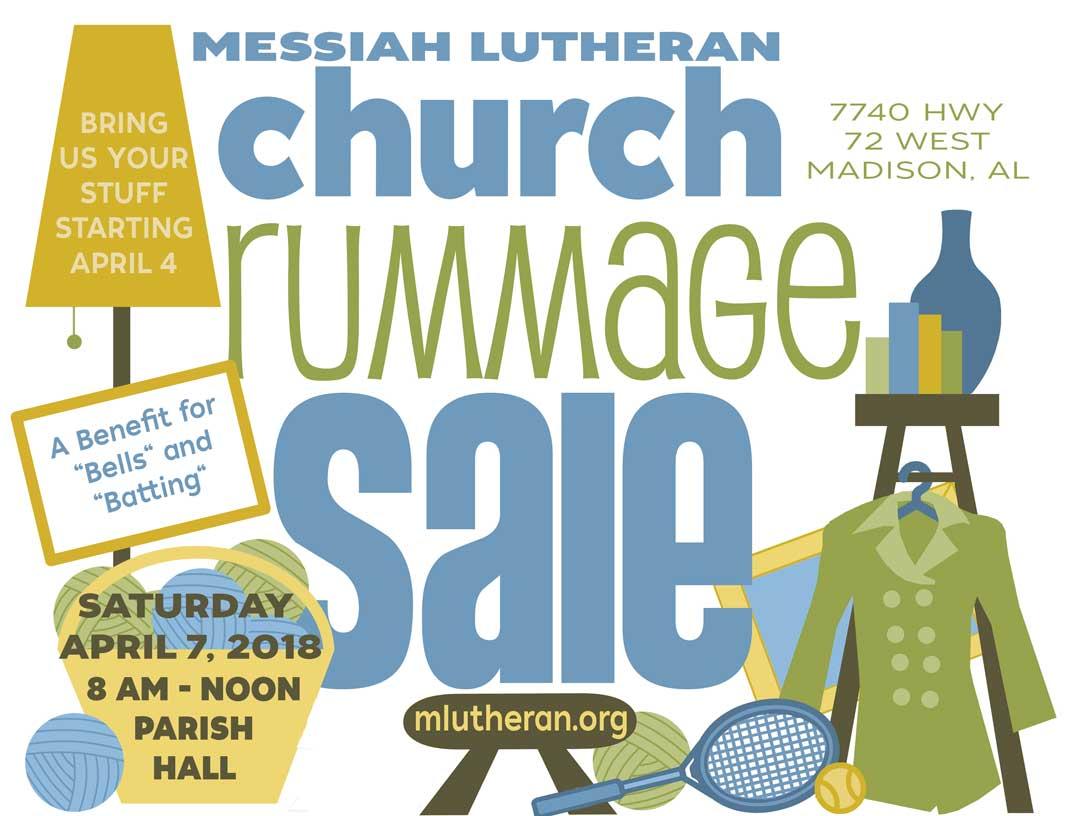 MLC Rummage Sale 2018