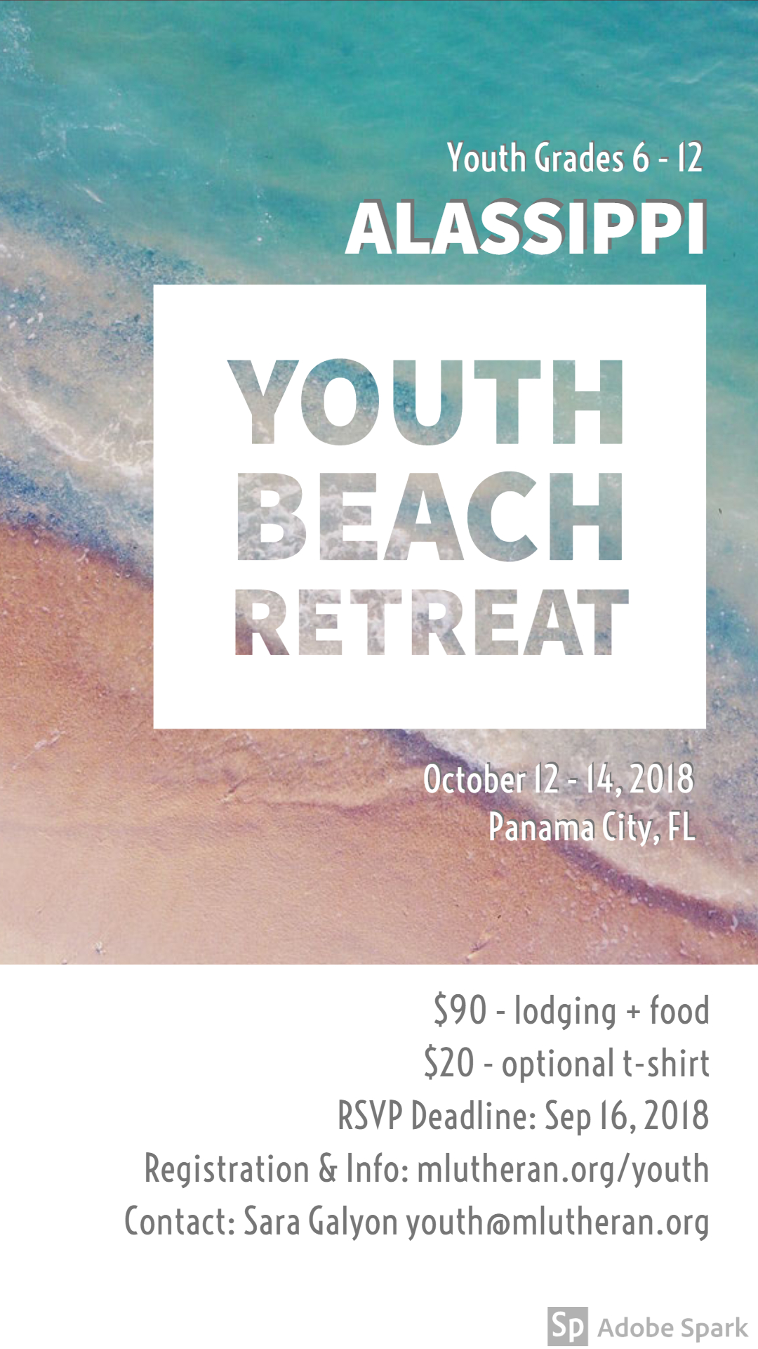 beach retreat graphic 2018