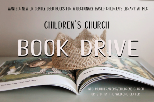 Childrens Church Book Drive