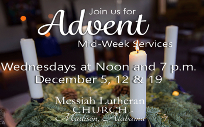 Advent Giving at Messiah
