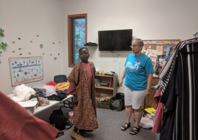 Costume Room of Music Camp