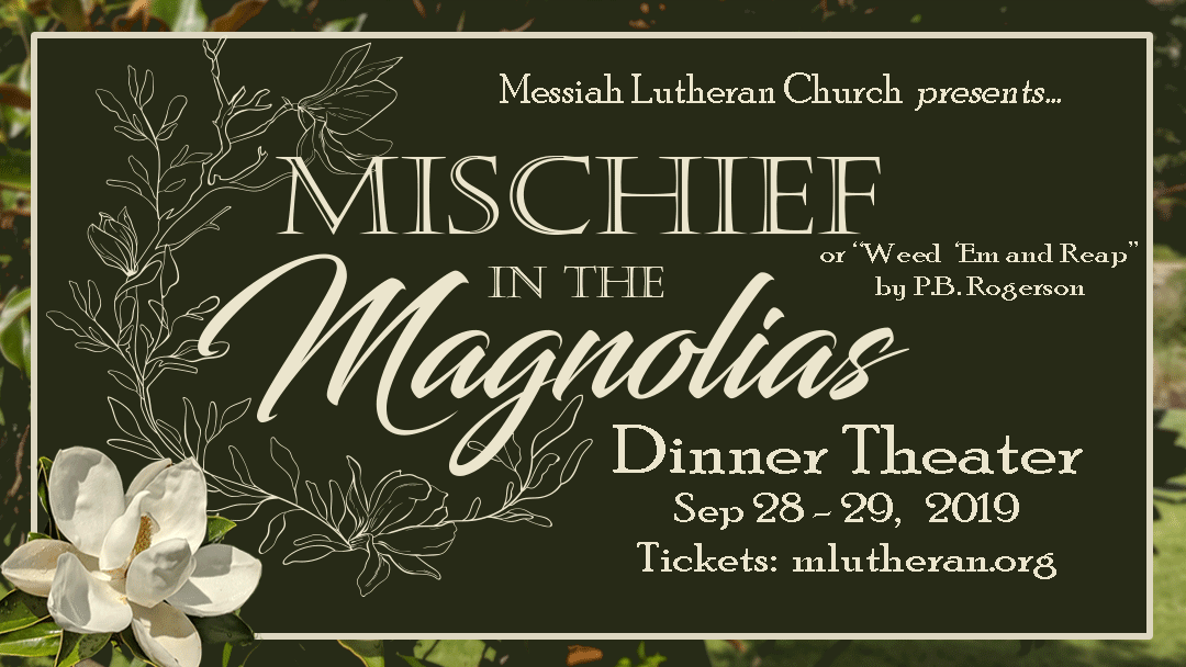 Dinner theater event banner