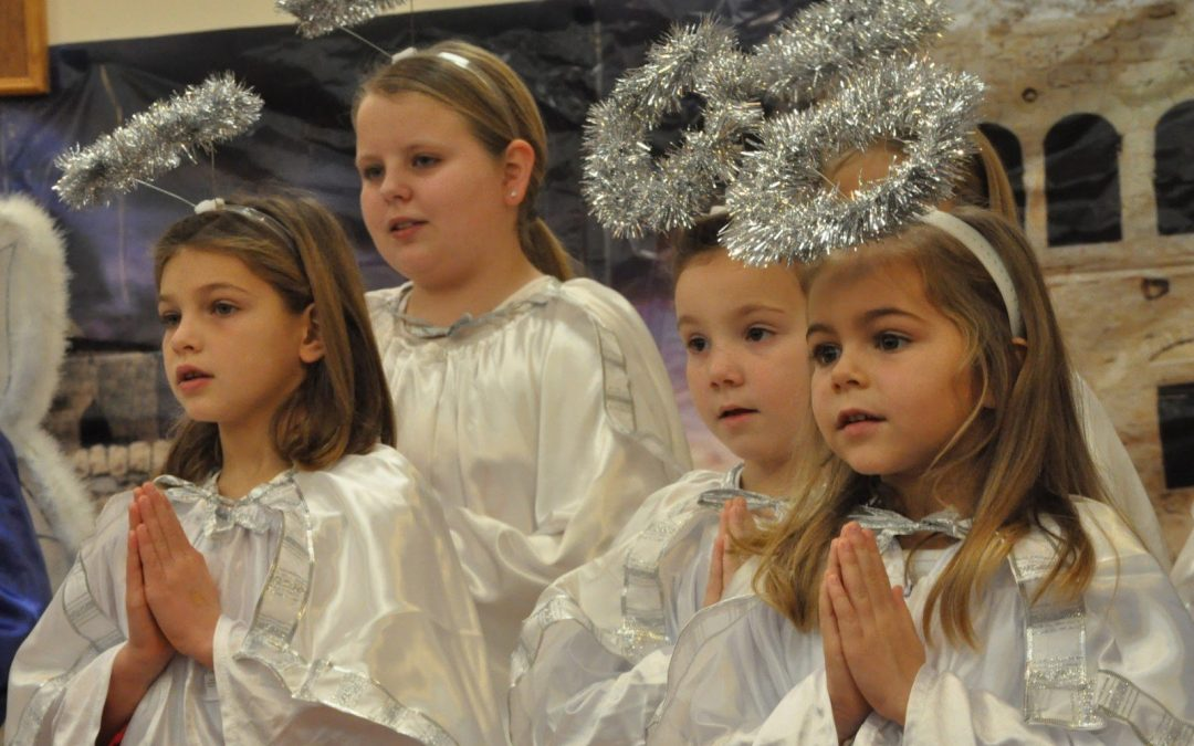 Christmas Program - Angels