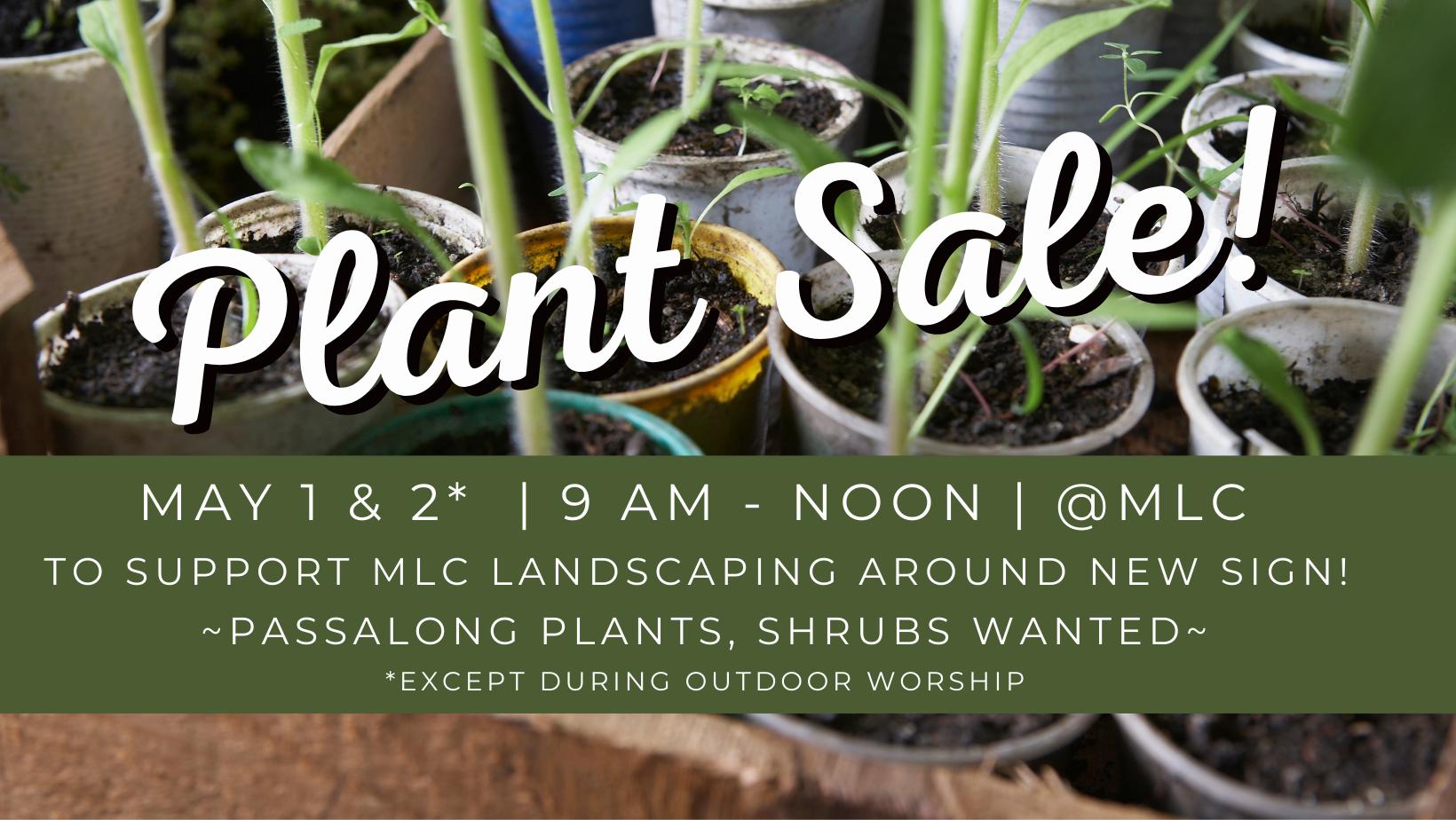 Plant Sale LInk