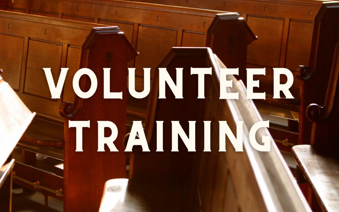 MLC Children's and Youth Volunteer Training